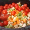 5 a Day Slow Cooker Vegetable Soup