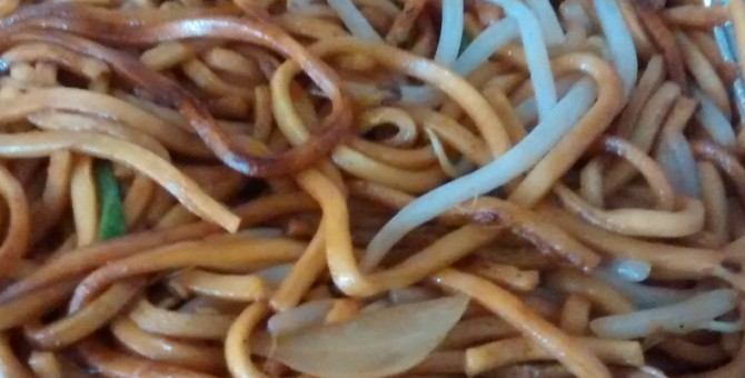 Easy Plain Chow Mein Recipe