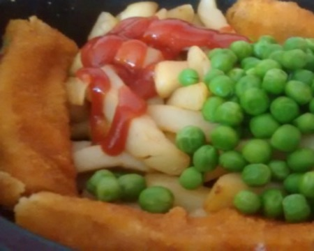 Microwave Fish Fingers