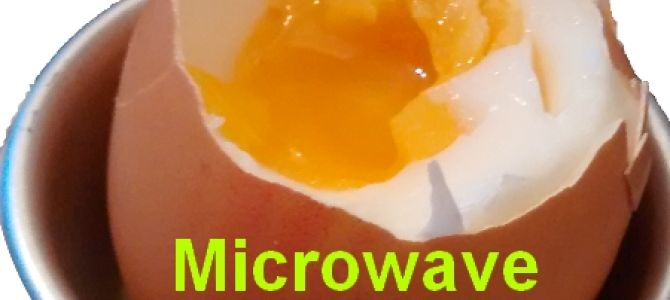 how to cook a soft boiled egg in the microwave