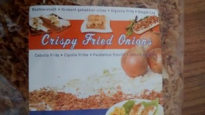 Crispy Fried Onions, Dried Onions