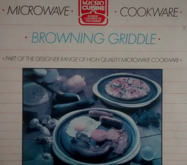 Microwave Browning Dish Instructions