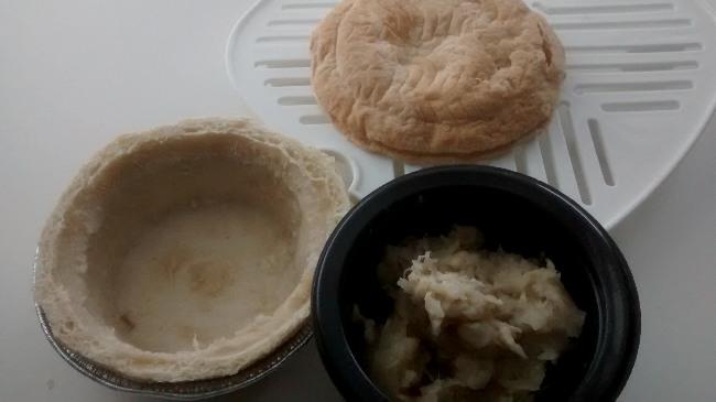 Microwave Pukka Pie
