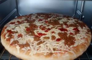 10 Inch Pizza In Mini Oven