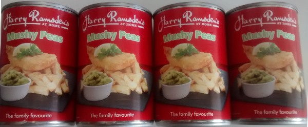 Harry Ramsdens Mushy Peas