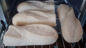 Lidl Rivercote Part Baked Baguettes Mini Oven