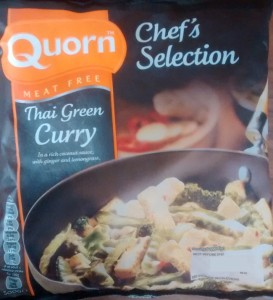 Quorn Thai Green Curry Microwave Chefs Selection