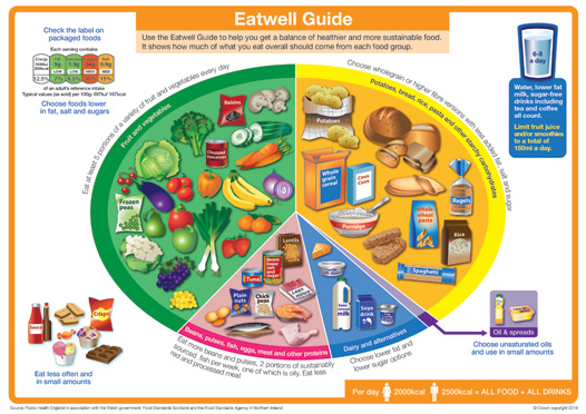 NHS Eat Well Guide 2016