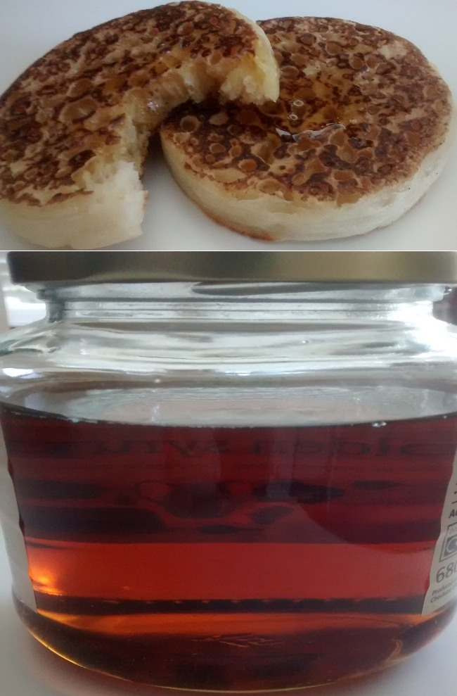 Crumpets Toppings Golden Syrup
