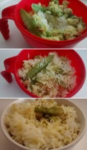 One Pot Microwave Thai Rice