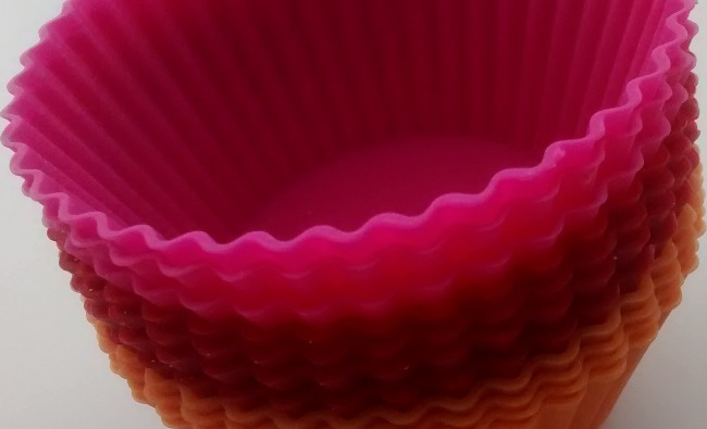Silicone Cupcake Cases Dipping Pots