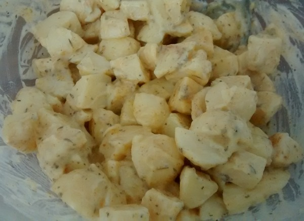 Cayenne Spicy Potato Salad