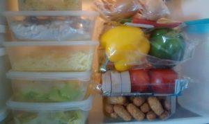 Salad Buffet Fridge