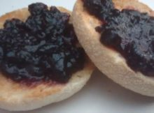 Breakfast Muffin Toppings Blackcurrant Preserve