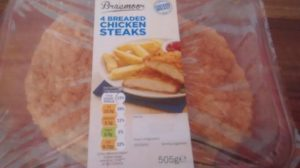 Lidl Braemoor Breaded Chicken Steaks Breadcrumbs