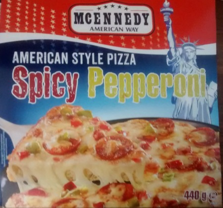 McEnnedys American Style Pizza Spicy Pepperoni