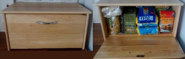 Tiny House Living Storage Stackable Bread Bins