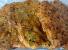 Oven Baked Onion Bhajis
