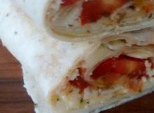 Sweet Chilli Chicken Tortilla Wrap