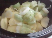Dairy Free Leek Potato Soup No Cream Slow Cooker
