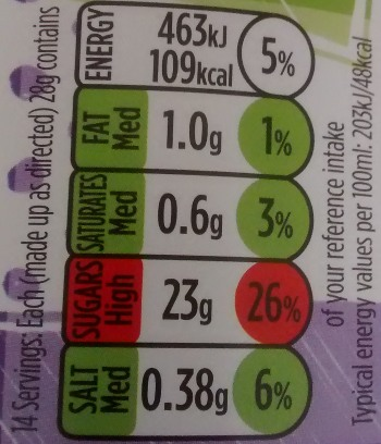 Calories Asda Smart Price Instant Hot Chocolate