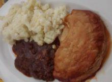 Fray Bentos Pie Review Chilli Beef Pie Served