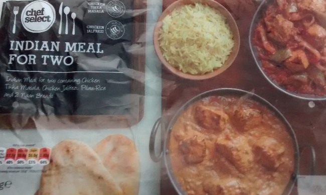 Lidl Chef Select Indian Meal For Two