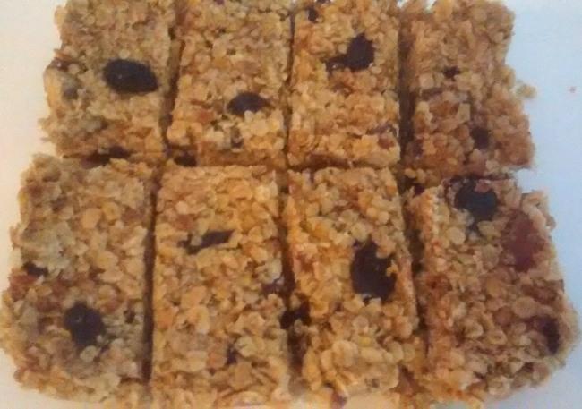 Microwave Flapjack Recipe Cherry Sultana Flapjack