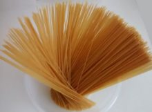 Raw Packet Spaghetti Portion Size Weight