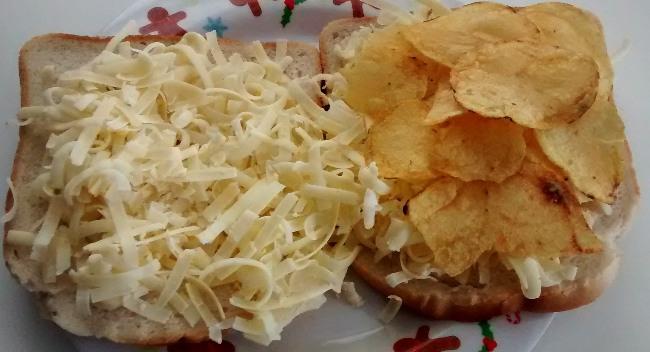 Crisp Sandwich Cheese Salad Cream