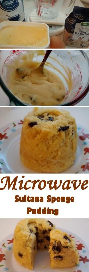 Sultana Sponge Pudding Step By Step