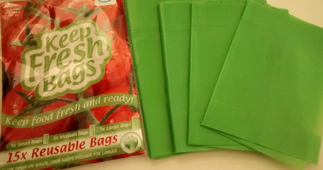 JML Keep Fresh Bags Green Bags Reusable