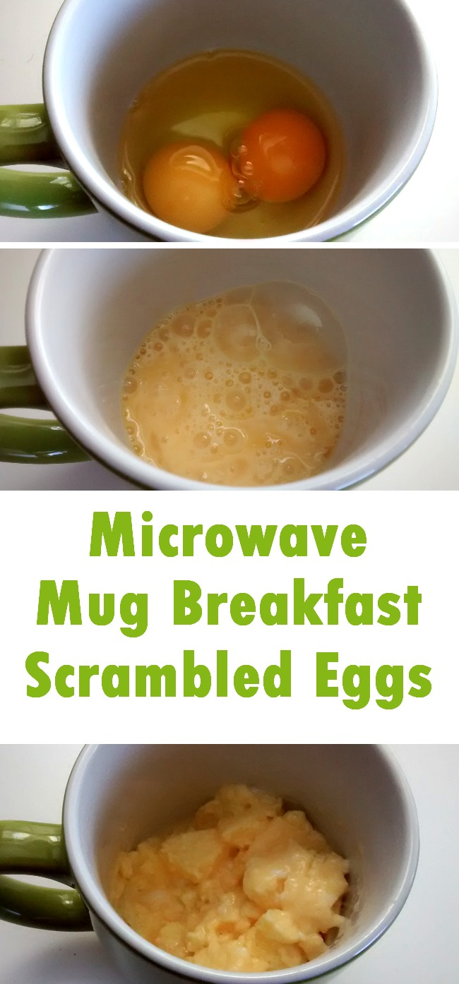 Microwave Mug Breakfast 2 Scrambled Eggs