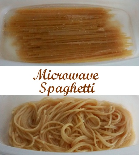 How To Microwave Spaghetti Food Cheats