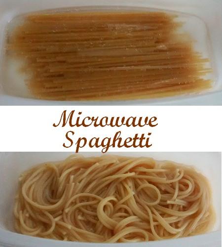 Microwave Spaghetti