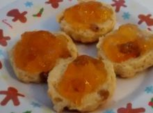 Orange Marmalade Scones No Butter