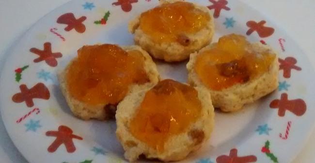 Orange Marmalade Scones No Butter
