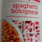 Tesco Everyday Essentials Spaghetti Bolognese