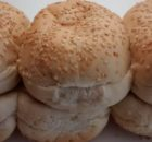Village Bakery Aldi Burger Buns Seeded Sliced