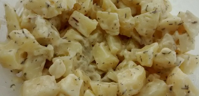 Frozen Onion Potato Salad