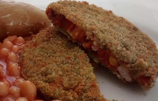Maes Garden Spicy Bean Quarter Pounder Burger Review Aldi