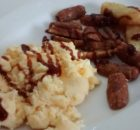 Microwave Mug Meals Breakfast Scrambled Eggs Sausages Hash Browns