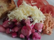 Potato Beetroot Salad Slow Cooker Quiche