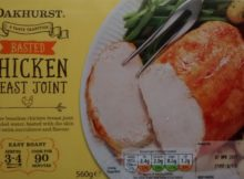 Aldi Oakhurst Basted Chicken Breast Joint Frozen
