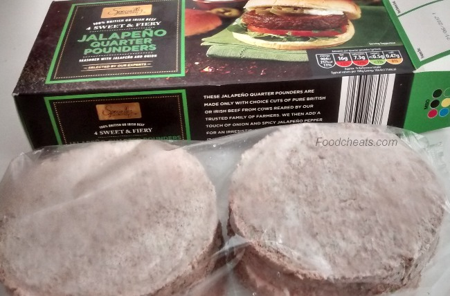Specially Selected Sweet Fiery Jalapeno Quarter Pounders Aldi