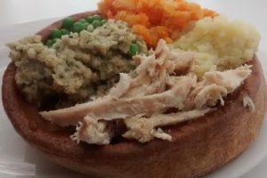 Giant Yorkshire Fillings Chicken Dinner