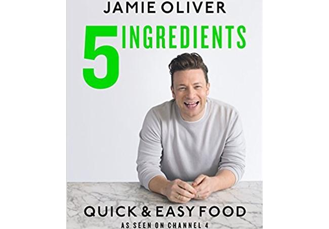 Jamie Oliver 5 Ingredients Quick Easy Food Recipe Book