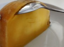 Quarter Swede Cooked Remove Skin With Spoon