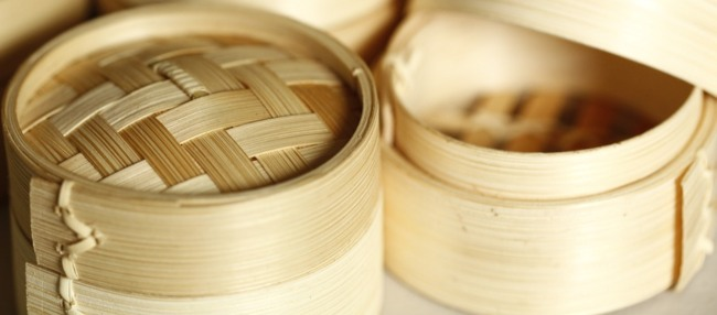 Bamboo Steamer Microwave Oven