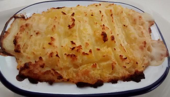Chicken Pie Recipe White Sauce Swede Potato Mash Topping